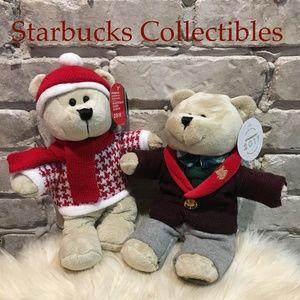 Starbucks Bearista Bears 2017 & 2018